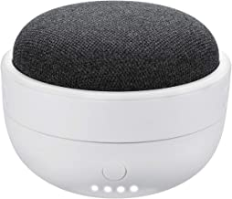 Rechargeable Battery Base for Google Home Mini - 7000mAh Portable Charger by Wasserstein (White)