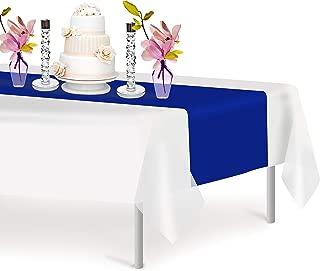 Best blue paper table runner Reviews