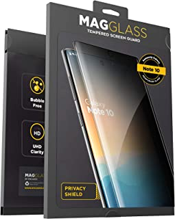 Not Tempered Glass Synvy Privacy Screen Protector Film for Samsung Galaxy S10 5G SM-G977N SM-G977U Anti Spy Protective Protectors Updated Version