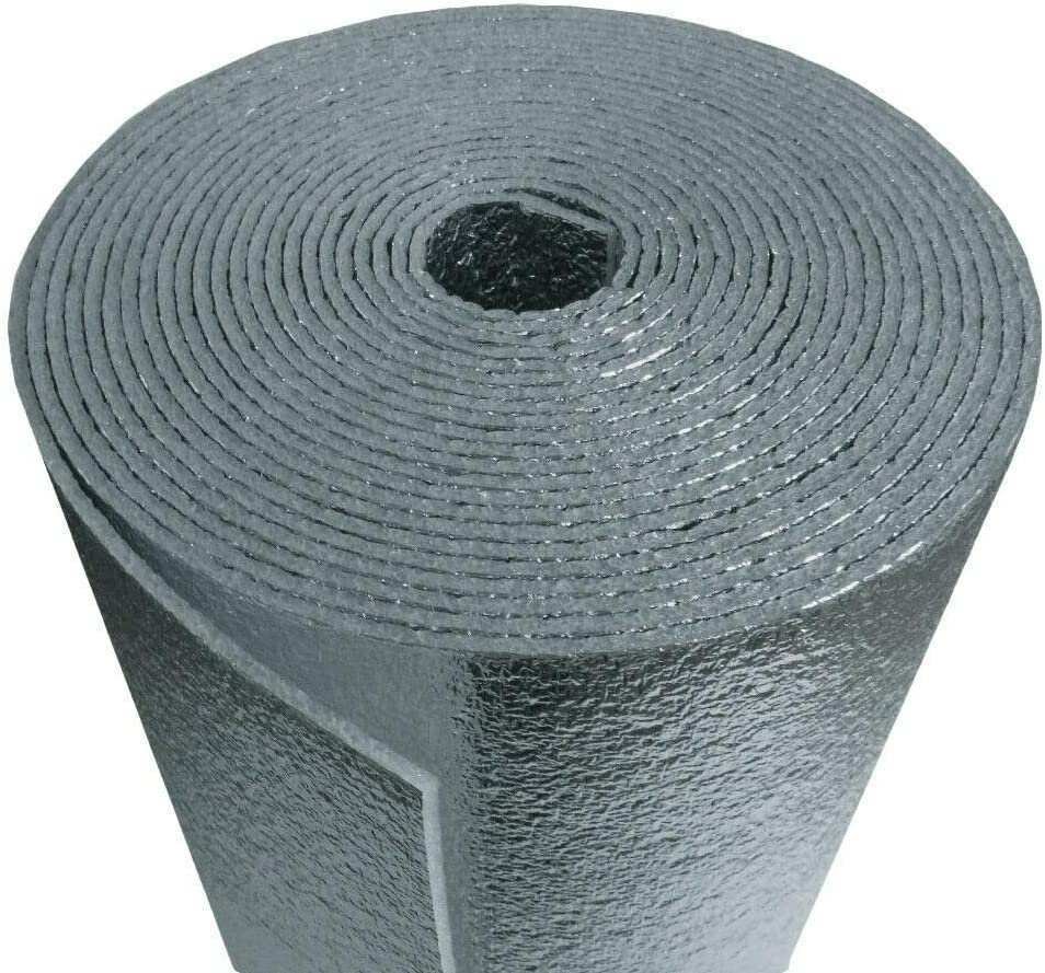 R-8 HVAC Duct Wrap Insulation Reflective x Daily bargain Topics on TV sale 2 24' Sided Foam Core