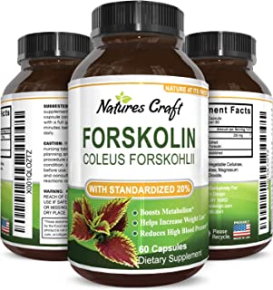 forskolin extract for weight loss by Natures Craft