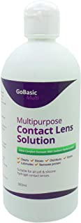 GoBasic Multi Purpose Contact Lens Solution for Soft Lenses