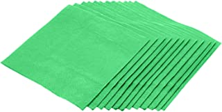 Jubilee 3-Ply Cocktail Beverage Napkins, 80 Count, Green