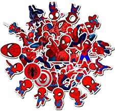 Auceo Marvel Avengers Stickers for Laptop,Graffiti Waterproof Stickers for Hydro flasks Water Bottles Skateboard Bike Luggage,Superhero Decals Party Favors for Teens,Adults (multicolor2)