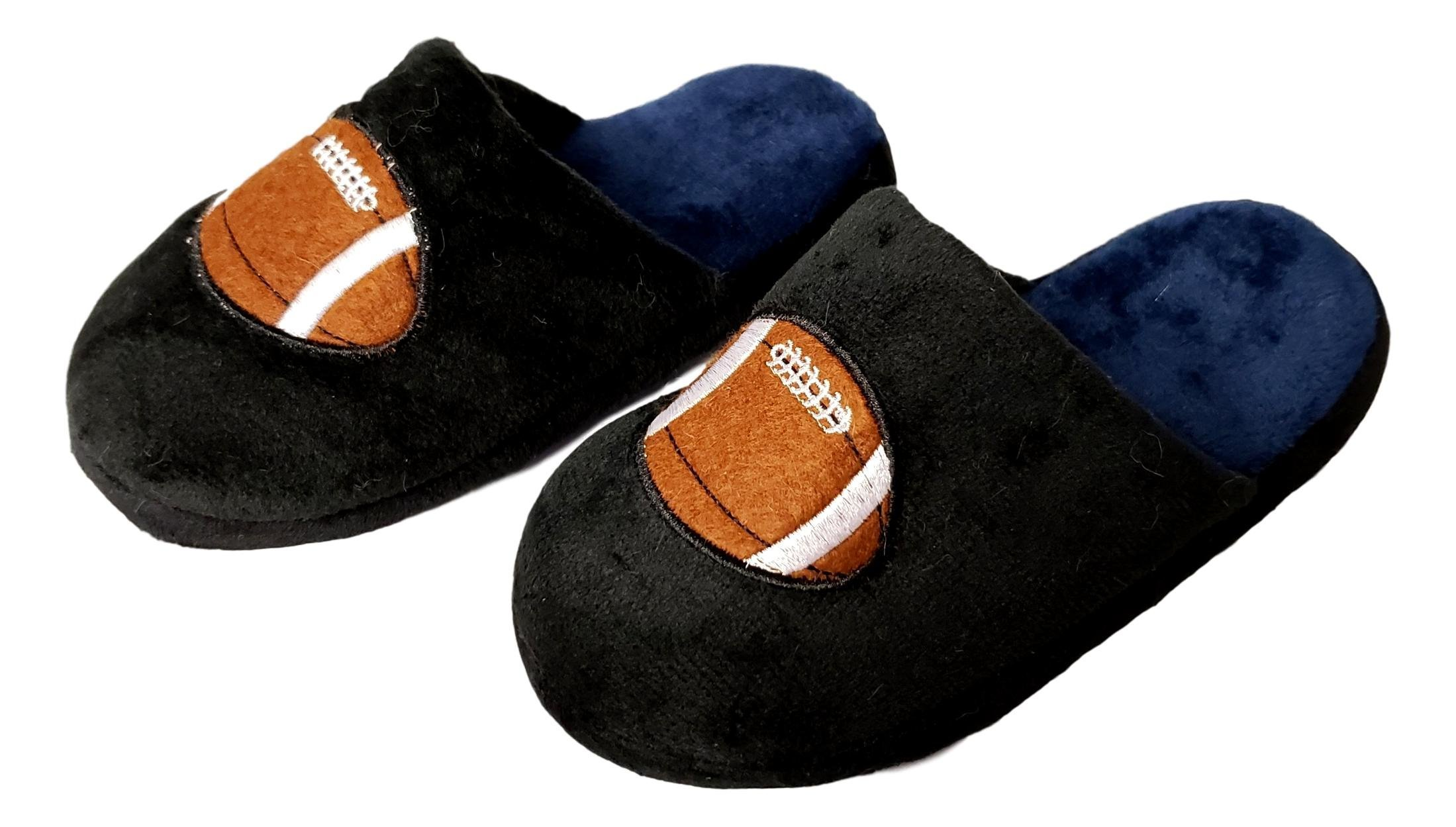 Image of A Great Deal: Football Slippers for Boys - See More Colors