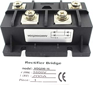 Quality Assurance of Single-Phase Rectifier MDQ200A 1600V MDQ200-16 Rectifier Module