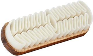 Langer & Messmer Spazzola morbida e lavabile crespa per la pulizia delle scarpe in pelle scamosciata (camoscio/nabuk)