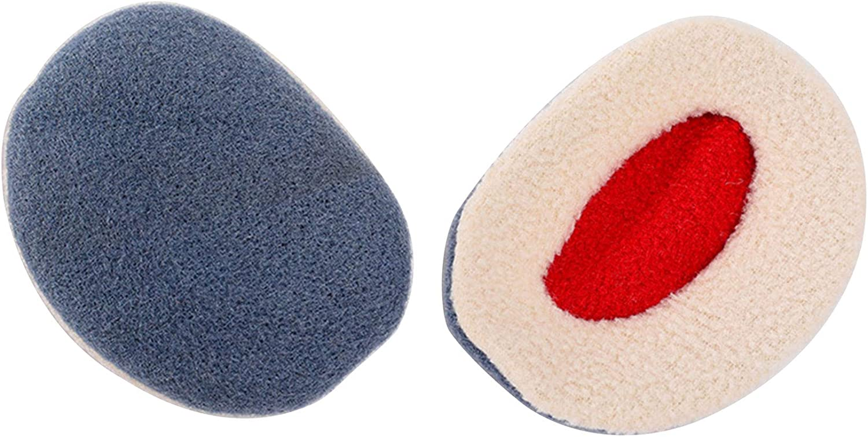 2 Pairs Earmuffs marten hair Ear Warmers Winter Ear Covers Unisex, 6 Colors, 3 Sizes