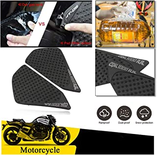 FATExpress Motorcycle Rubber Traction Pad Side Fuel Gas Tank Grip Decal Protector for 2004 2005 2006 2007 Honda CBR1000RR CBR 1000 RR 1000RR Repsol