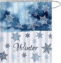 Best snowflake shower curtains Reviews