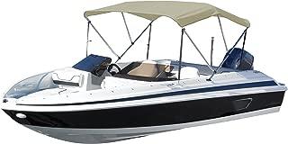 Summerset 600 Denier Bimini 3 Bow Boat Canvas Top Includes 1 Aluminum Frame & Hardware, 54 H