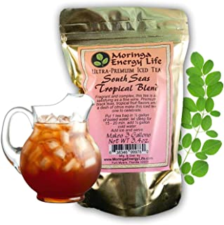 Ultra-Premium South Seas Tropical Blend Iced Tea, Premium Black Tea, Tropical Fruit Flavors & a Dash of Citrus. 3 One Gall...
