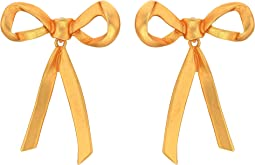 Runway Metal Bow P Earrings