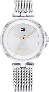 TOMMY HILFIGER CAMI WOMEN's SILVER DIAL WATCH - 1782361