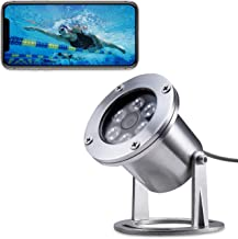 Barlus Underwater Camera 304 Stainless Steel IP68 1080P 2MP POE IP Camera 5 Meters Length..