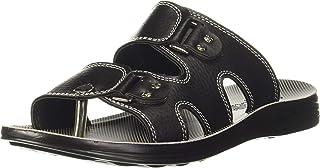 Aqualite Black Slippers - 7 UK (41 EU) (PPG1083PGBKBK07)