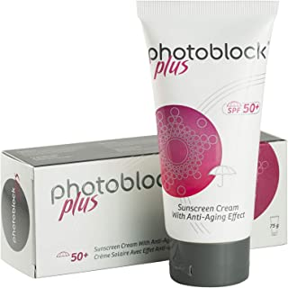 Derma Photoblock Plus SPF Sunscreen with Anti Aging Effect, 75 gm