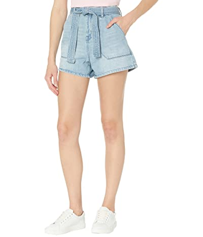 Blank NYC Denim High-Rise Shorts with Self Belt in Must Be The Place