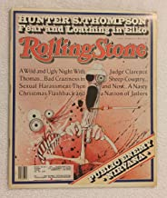 Hunter S. Thompson - Fear & Loathing in Elko - Rolling Stone Magazine - #622 - January 23, 1992 - Public Enemy, Nirvana, Judge Clarence Thomas, Sexual Harassment articles