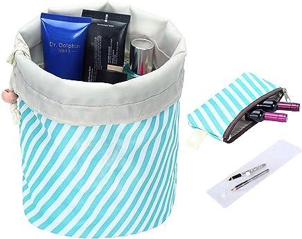 Ochioly Toiletry Bag Travel Makeup Bag Men Women Hanging Wash Bags Large  Capacity Drawstring Cosmetic Make b9efb3007aa7b