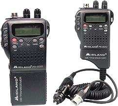 Midland Radio 75-822 Portable Mobile CB Radio, Large LCD Display, Keypad Lock, Plug and Play, Rugged Construction, Up To 4...