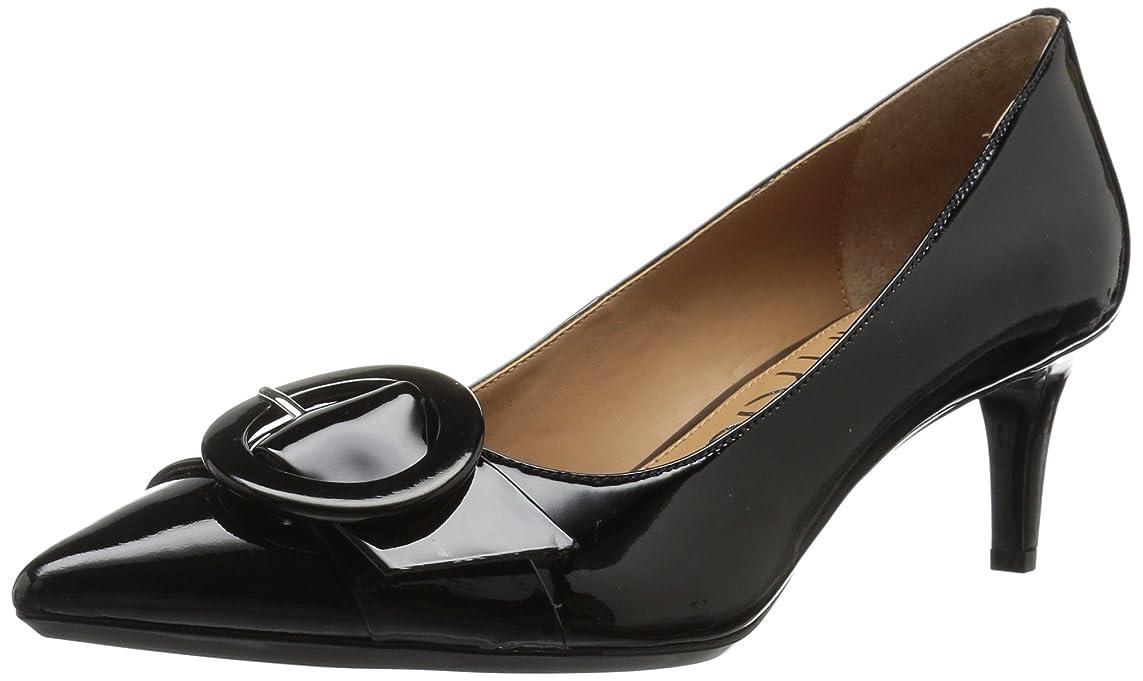 縞模様のオリエンテーション疲労[Calvin Klein] レディース PAVIE カラー: ブラック