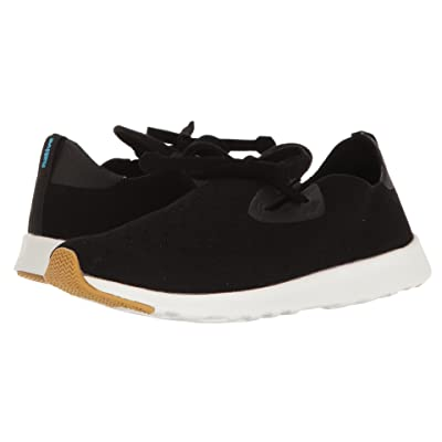 Native Shoes Apollo Moc (Jiffy Black/Shell White/Natural Rubber 2) Shoes