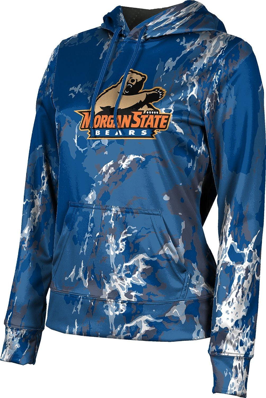 ProSphere Morgan State University Girls' Pullover Hoodie, School Spirit Sweatshirt (Marble)