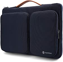 tomtoc 360 Protective 14 Inch Laptop Sleeve for 15-inch New MacBook Pro w/Touch Bar (A1990 A1707), ThinkPad X1 Yoga (1-4th Gen), 14 HP Dell Acer Chromebook, Surface Laptop 3 15 Inch 2019