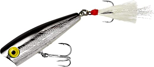 Rebel Lures Pop-R Topwater Popper Fishing Lure