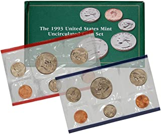 1993 coin set uncirculated