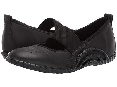 ECCO Vibration 1.0 Mary Jane (Black Yak Leather) Women