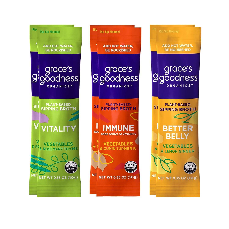 GRACE'S GOODNESS ORGANICS Vegan Plant Vegetab Organic National uniform free shipping Colorado Springs Mall Based