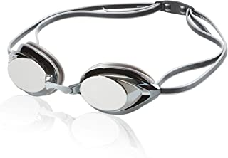 Speedo Vanquisher 2.0 Mirrored Swim Goggles, Panoramic,...