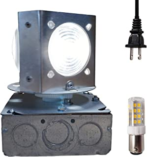 Natural Diamond DIY LED Revolving Lighthouse Beacon - Realistic 10 RPM Rotation