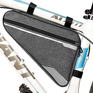 SUYAYA Bike Bicycle Triangle Frame Bag - Bike Bicycle Storage Bag Pack Bike Accessories Road Mountain Cycling Saddle Pouch...