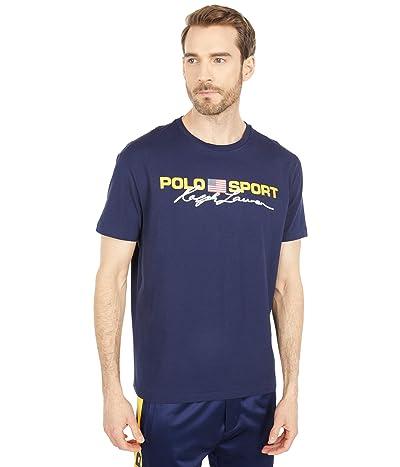 Polo Ralph Lauren Classic Fit Polo Sport T-Shirt (Cruise Navy) Men