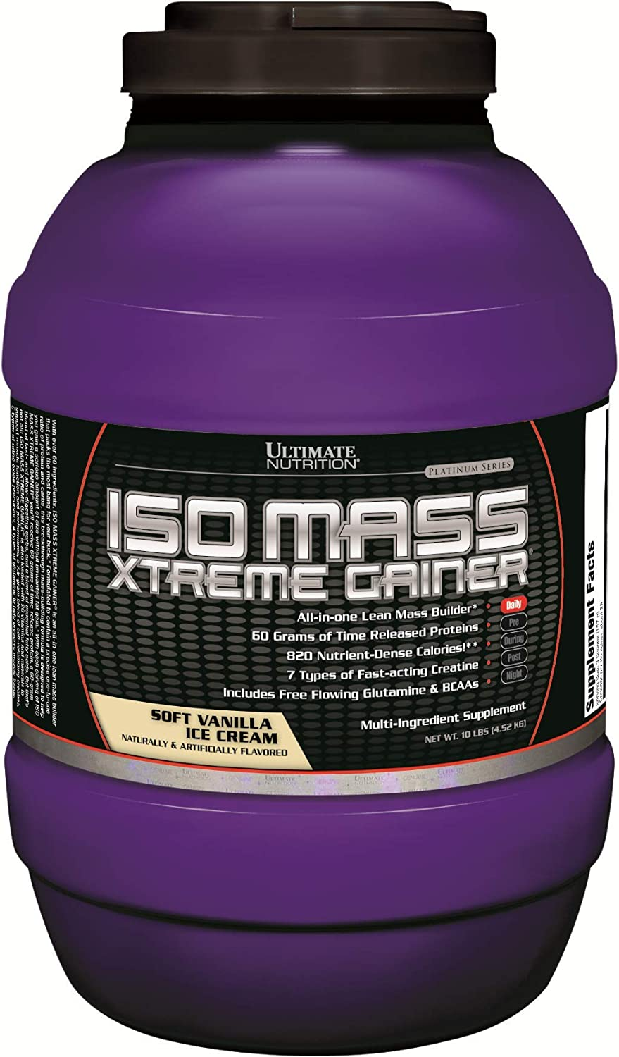 Ultimate Nutrition ISO Mesa Mall Mass Xtreme Superlatite Weight Protein Gainer Isolate