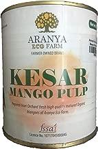 Aranya Eco Farm Organic Kesar Mango Pulp - 850grams