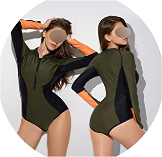 Bikini One Piece Retro for Women Vintage Bathing Suit Push Up Sexy Female Swimsuit Surfing Solid Polyester