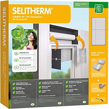 SELITHERM Aislamiento de pared lateral para cajas de persianas: Amazon.es: Bricolaje y herramientas