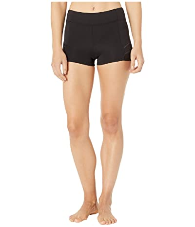 Bloch Ladder Trim Shorts (Black) Women