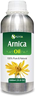 Salvia Arnica Essential Oil (100% Pure, Undiluted and Organic) - Natural, Premium Aromatherapy Massage Oil - 1000 ML