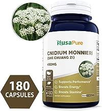 Cnidium Monnieri 450mg 180caps (Non-GMO & Gluten Free) Supports Performance, Boost Stamina and Energy
