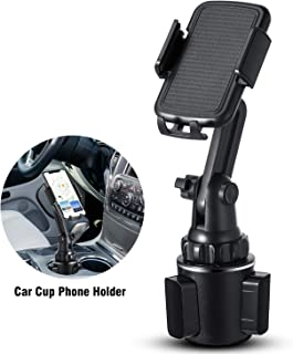 Car Cup Holder Phone Mount,Marchero Upgraded Long Neck Adjustable Cell Phone Holder Cradle Compatiable iPhone 11 Pro/XR/Xs/XS Max/X/8/7Plus/Xperia/SE/Samsung Glaxy S20/S10
