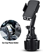 Car Cup Holder Phone Mount, Marchero Upgraded Adjustable Vehicle Universal Cell Phone Holder for Car with Flexible Long Neck Compatible for iPhone 11Pro/Max/X/XR/8 Plus /7 6 Samsung Galaxy S10/S9/ S8