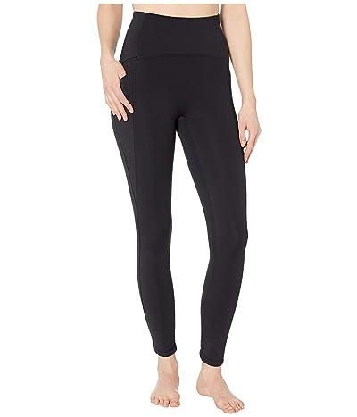 manduka Presence 7/8 Pocket Legging (Black) Women