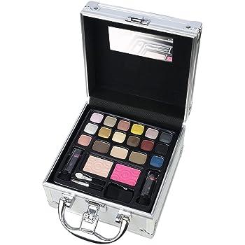The Color Workshop Maletín Metálico de Maquillaje - 1 pack: Amazon ...