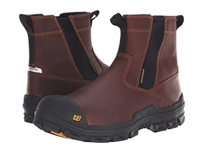 Caterpillar Throttle Nano Toe WP (Tan) Men