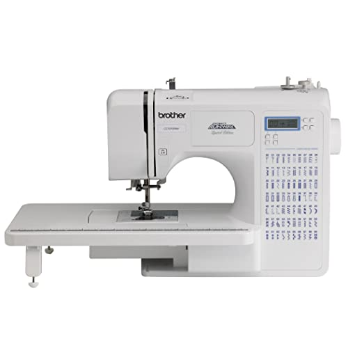 Brother Project Runway CE7070PRW 70-Stitch Computerized Sewing Machine with Wide Table